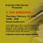 "Free Film Screening - ""Y, Sin Embargo"""