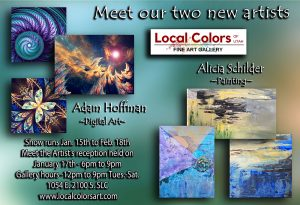 Two new artists join Local Colors of Utah