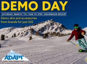 Demo Day to Benefit Ogden Valley Adaptive Sports Foundation
