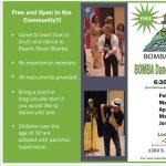 Bomba Dance and Drum Class/ Clase de Baile y Percusión de Bomba