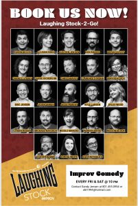 Laughing Stock Improv Comedy -POSTPONED