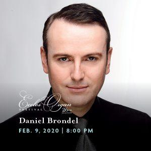 Daniel Brondel - Eccles Organ Festival concert