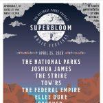 Superbloom with The National Parks -POSTPONED