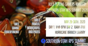 Southern Utah RPG Summitt -POSTPONED