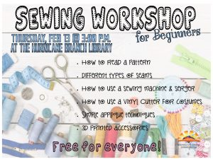 Sewing Workshop for Beginners