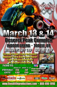 Monster Truck Insanity in Tooele!