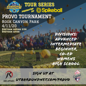Provo Spikeball Tournament -POSTPONED