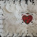 Valentine Paper Cutting and Pioneer Crafts