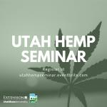 Utah Hemp Seminar
