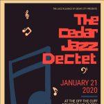Cedar Jazz Dectet at Off The Cuff