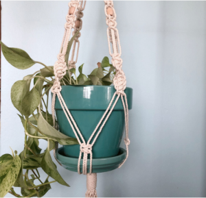 Macrame Plant Hanger with Marti Woolford of Marti ...