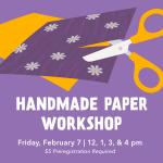 Handmade Paper Workshop