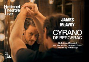 "National Theatre Live ""Cyrano de Bergerac"" -POSTPONED"