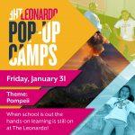 The Leonardo Pop-Up Camps: POMPEII