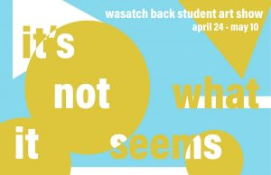 Wasatch Back Student Art Show: It's Not What It Seems -VIRTUAL