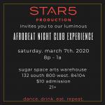AFROBEAT night club experience