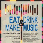 "Jubilate presents ""Eat, Drink and Make Music"""