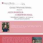 Alen Hamza and Ceridwen Hall Reading CANCELLED