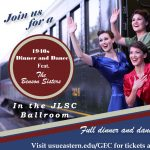 A 1940's Dinner and Dance with the Benson Sisters!