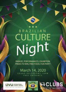 Brazilian Culture Night at UVU