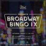 Utah Voices Presents Broadway Bingo IX
