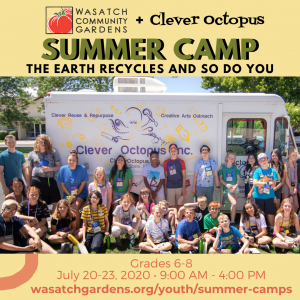 (Cancelled) Summer Camp: The Earth Recycles and So...
