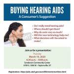Buying Hearing Aids; A Consumer Suggestion