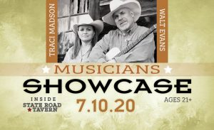 Musicians Showcase in July- CANCELLED