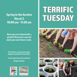 Terrific Tuesday: Spring in the Garden