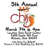 5th Annual MS Chili Cook-off