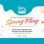 Spring Fling -- Combined Jazz Band and Community Choir Concert -CANCELLED