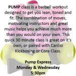 Pump Express Class