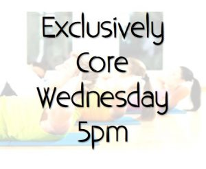 Exclusively Core Class