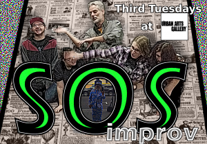 SOS Improv, all levels of experience welcome