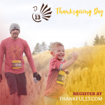 Thankful 13, 10K, 5K & Kid's Run- IN PERSON OR...