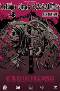 **POSTPONED** The Casualties / Leftover Crack @ Th...