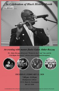 Women in Jazz and Jazz and the Civil Rights Movement