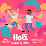Holi Celebration- CANCELLED