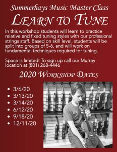 Learn to Tune Workshop