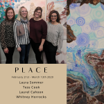 PLACE – Laura Sommer, Tess Cook, Laurel Cahoon, ...