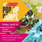 The Leonardo Pop-Up Camps -VENUE CLOSED