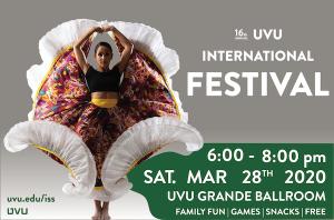 16th Annual UVU International Festival -CANCELLED