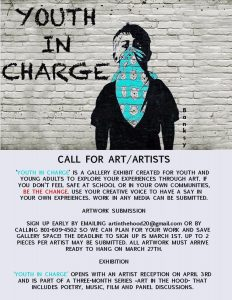 Call for Artists: Youth in Charge