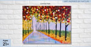 Central Park - SLC Paint & Sip Night