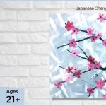 Japanese Cherry Blossom - SLC Paint & Sip Night