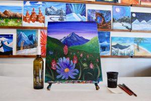 Mountain Bloom - SLC Paint & Sip Night