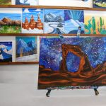 Cosmic Arch - Park City Painting Experience