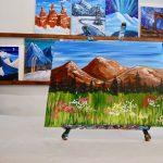Springtime Albion Basin - Paint & Wine Night Park City