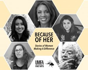 Because of Her: Stories of Women Making a Differen...