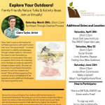 Explore Your Outdoors! Family-Friendly Nature Talks & Activitites